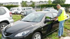 Kradzione samochody [br] w stołecznym komisie
