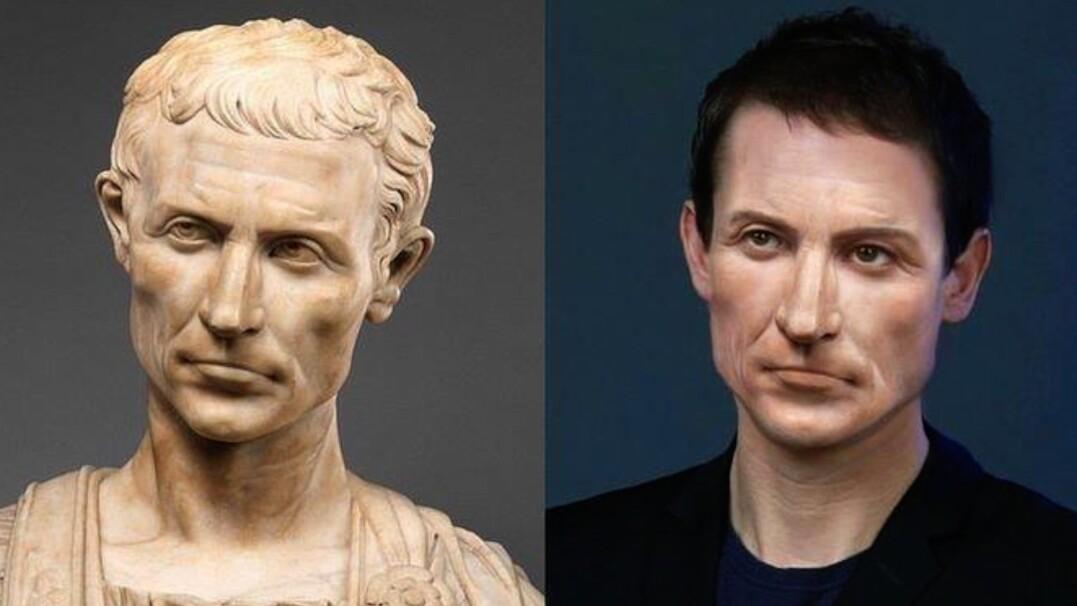 Postaci historyczne współcześnie. Zobaczcie, jak wyglądałby dzisiaj Juliusz Cezar czy książę Albert