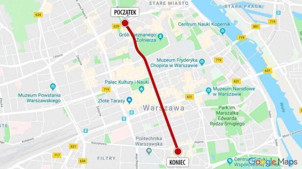 """Przemarsz """"Polska w Europie"""" Google"""