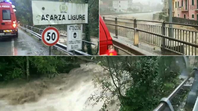 Podniósł się poziom wody w rzekach. <br />Podtopienia po ulewach we Włoszech