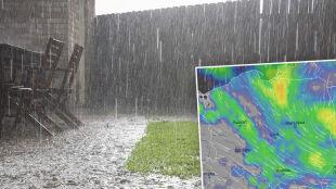 Najbliższe dni w strugach deszczu. Z burzami i porywistym wiatrem