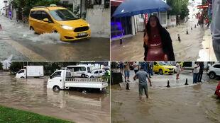 """""""Nasz hotel został całkowicie zalany"""". Powódź błyskawiczna w Turcji"""