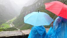 W górach mokro, nad morzem zimno - ten weekend trudno będzie zaliczyć do udanych