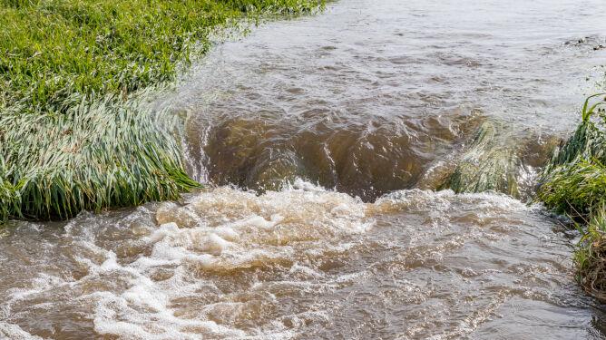Po ulewach rośnie stan wód. Alerty drugiego stopnia