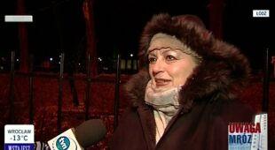 Jak mieszkańcy Łodzi walczą z mrozem (TVN24)